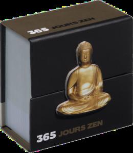 cadeau pour femme 70 ans -Mini calendrier 365 jours zen