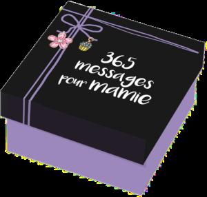 idée cadeau originale pour mamie - 365 messages