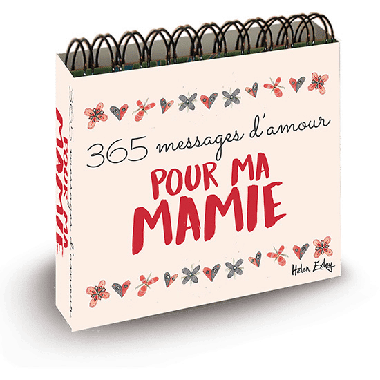 idée cadeau originale pour mamie - messages d'amour