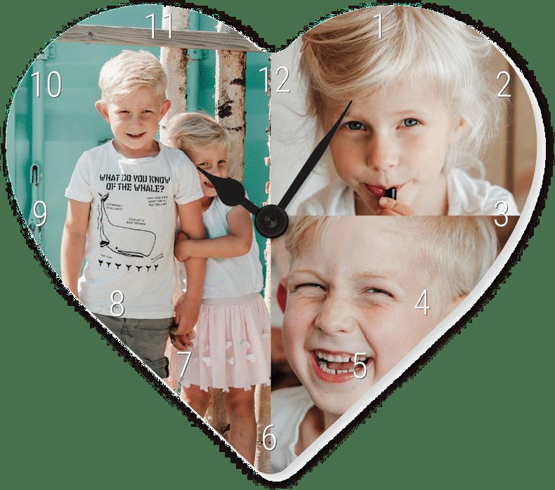 Cadeau d'anniversaire pour grand-mère - horloge personnalisée