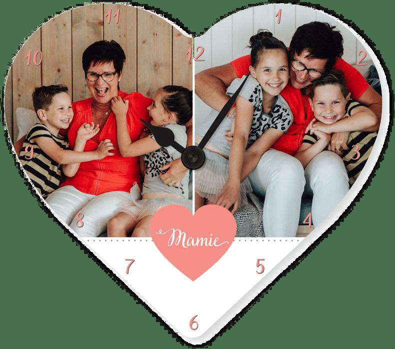 horloge mamie -Cadeau d'anniversaire pour grand-mère
