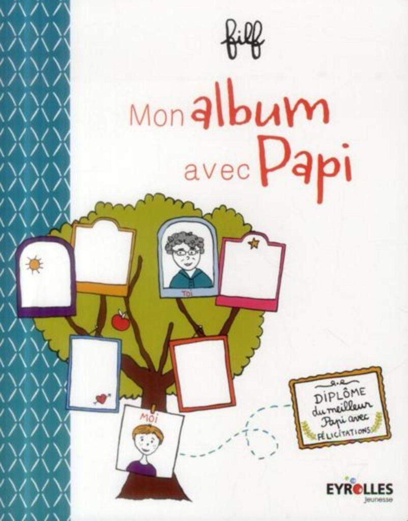 mon album avec papy - cadeau grand-père