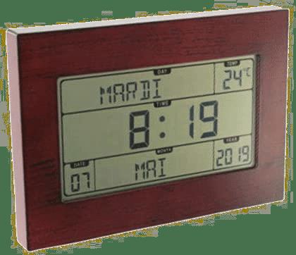 Alzheimer - Horloge calendrier