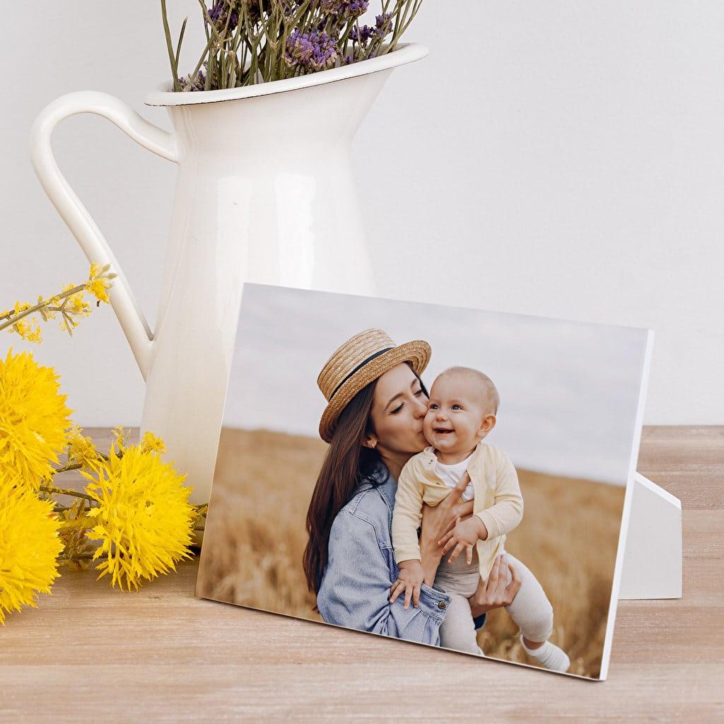 Cadeau pour Grand-mère - Photo en bois